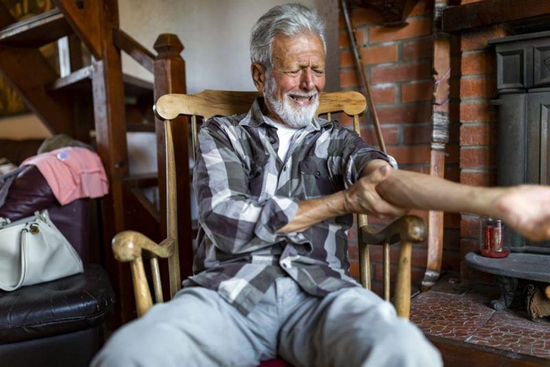 Gout Chronic Elbow Pain