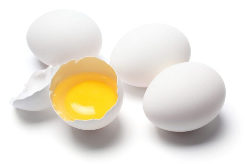 raw pasteurized eggs