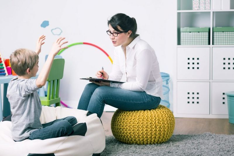 child speech therapy treatment