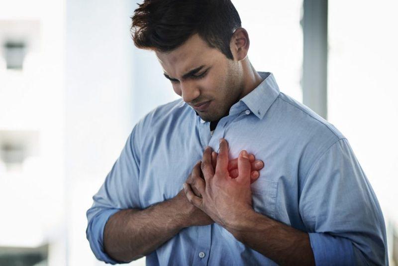 chest pain shoulder