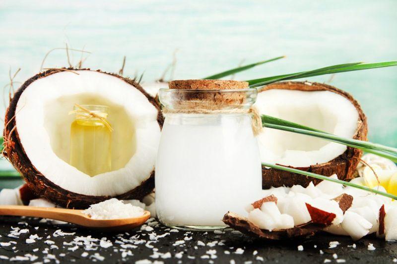 coconut oil milk