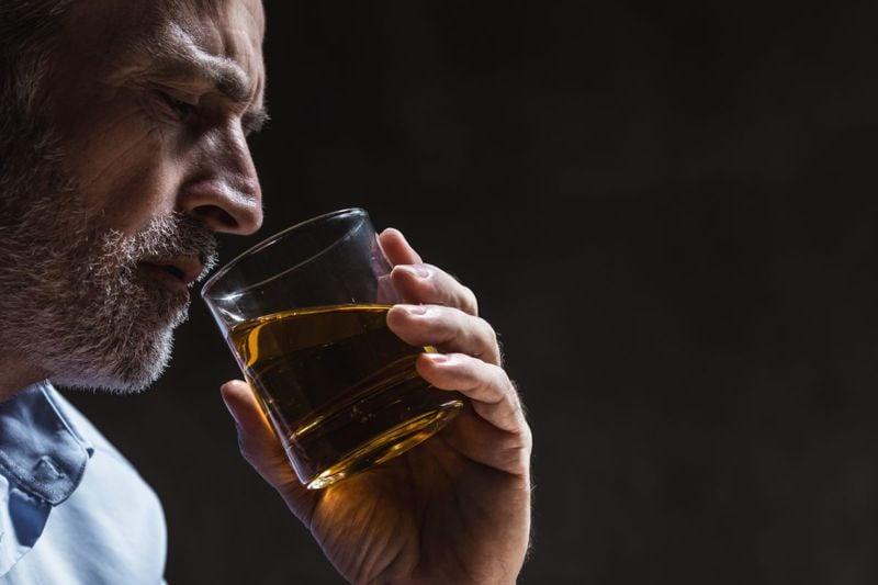 alcohol consumption negative