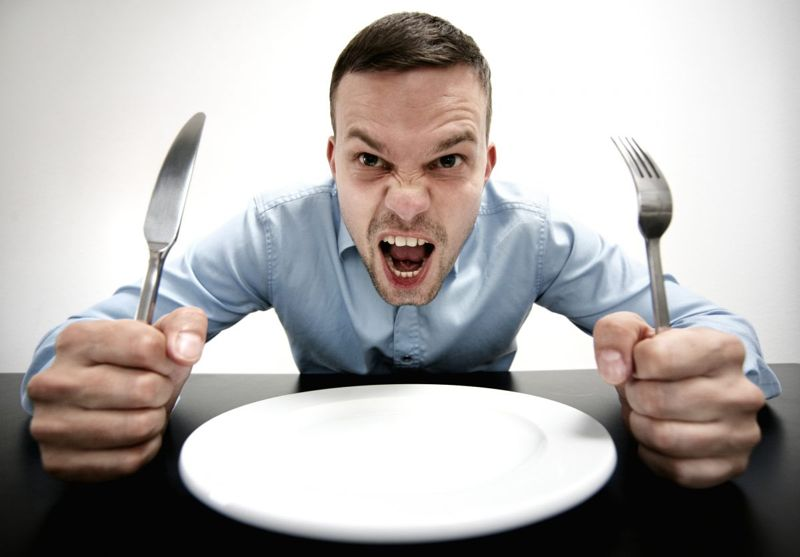 Hunger can cause irritability