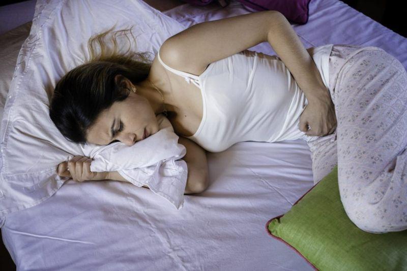 Menstruation prostaglandin intestinal contraction inflammation
