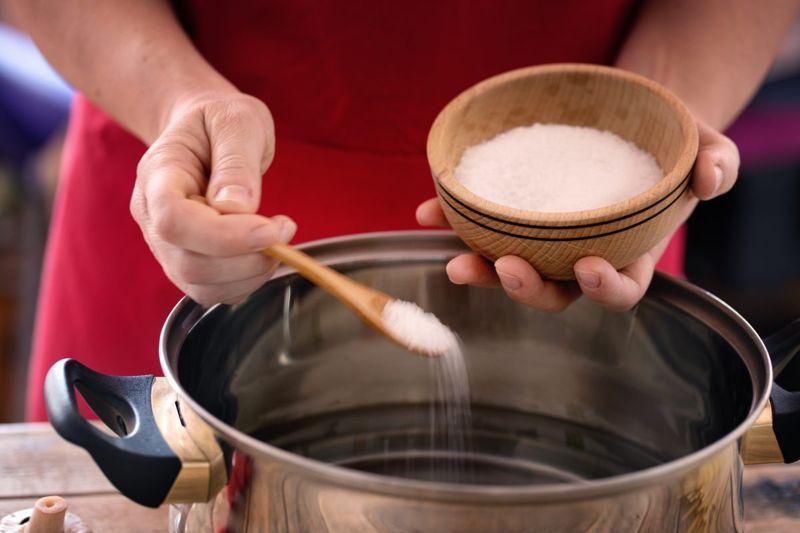 excess salt pot
