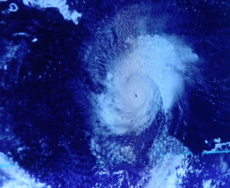 Hurricane storm PTSD climate change