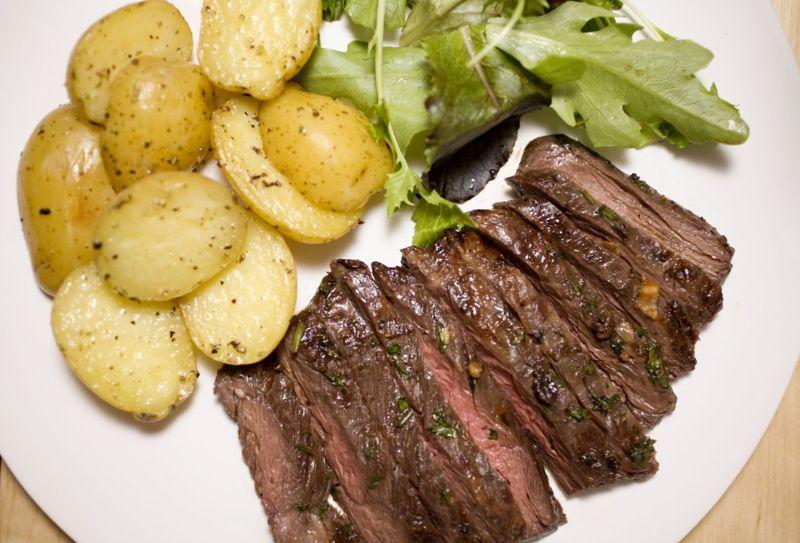 grass-fed skirt steak