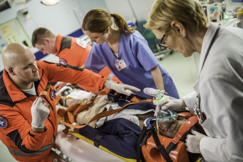 treatment emergency personnel