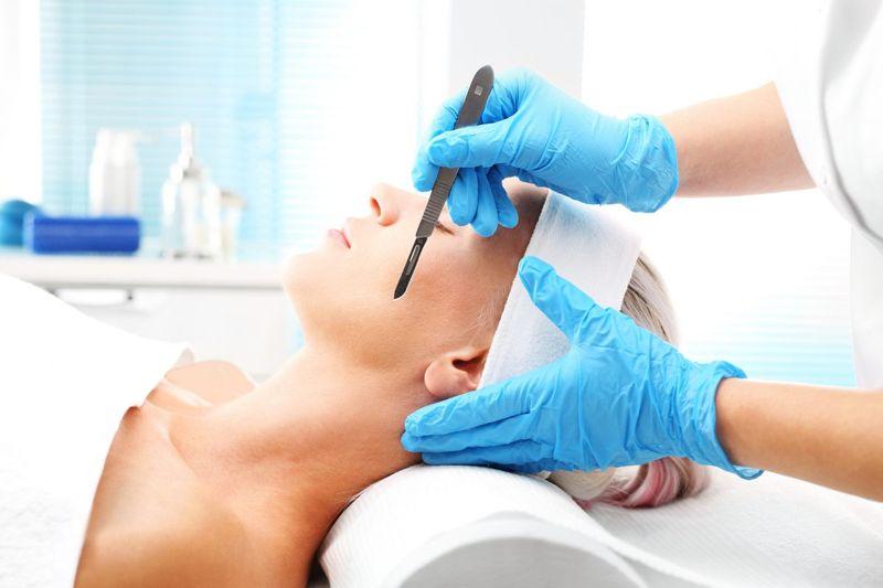 dermaplaning cosmetic procedure