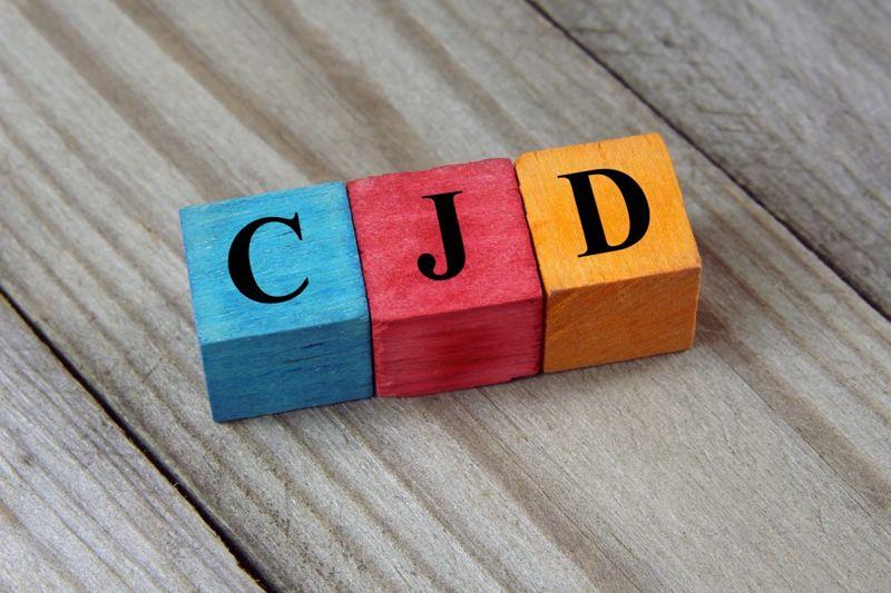 Blocks with CJD written on them