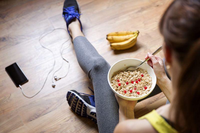 athletes respiratory oatmeal health improvements