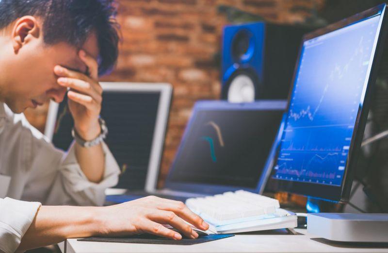 Investors Monday Blues Stock Market
