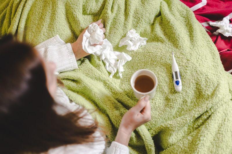 influenza-like illness weak immune system