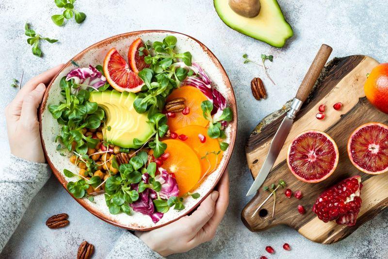 Plant-based food gout diet