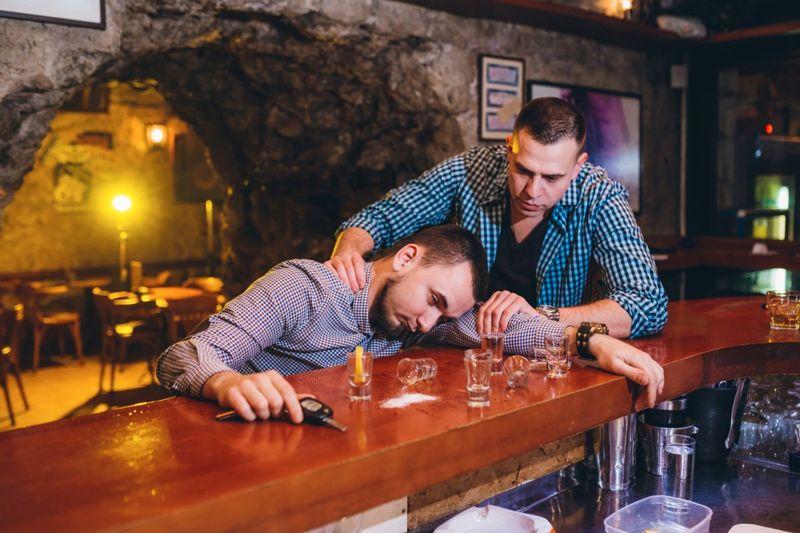 Drunk Bar Friend