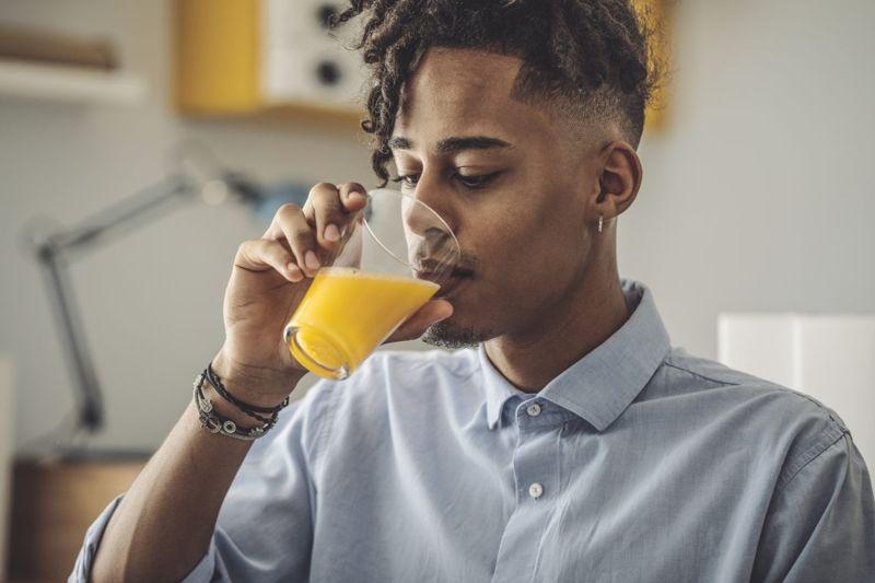 safe orange drink mix