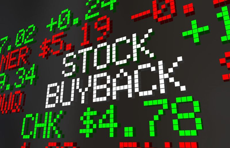 Stock re-purchases can send mixed signals to the marketplace.
