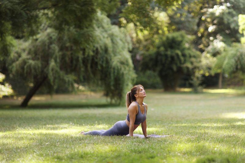 Managing stress yoga meditation