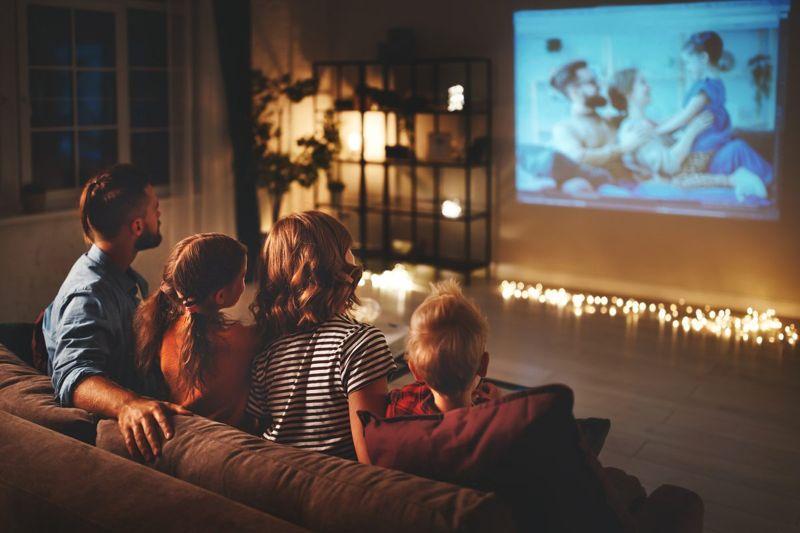 Create a cozy home cinema experience