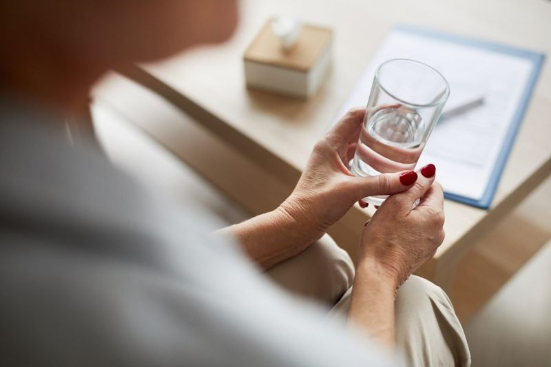 exposure therapy water glass