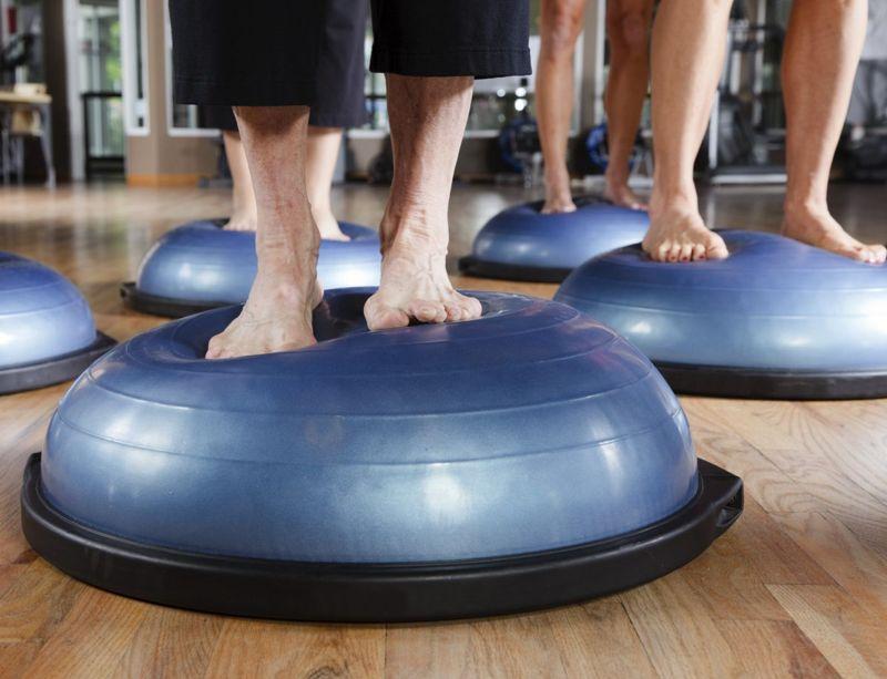fitness stabilize lumbar balance trainer