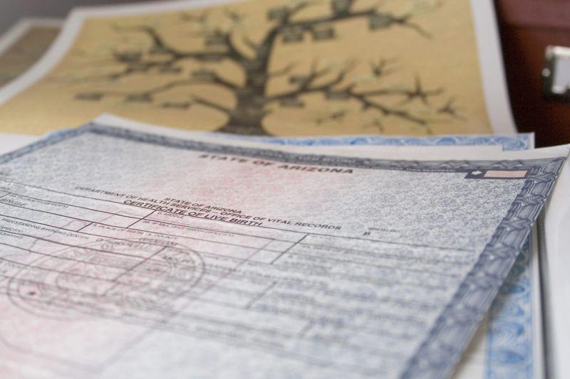 Emergency Documents Birth Certificate