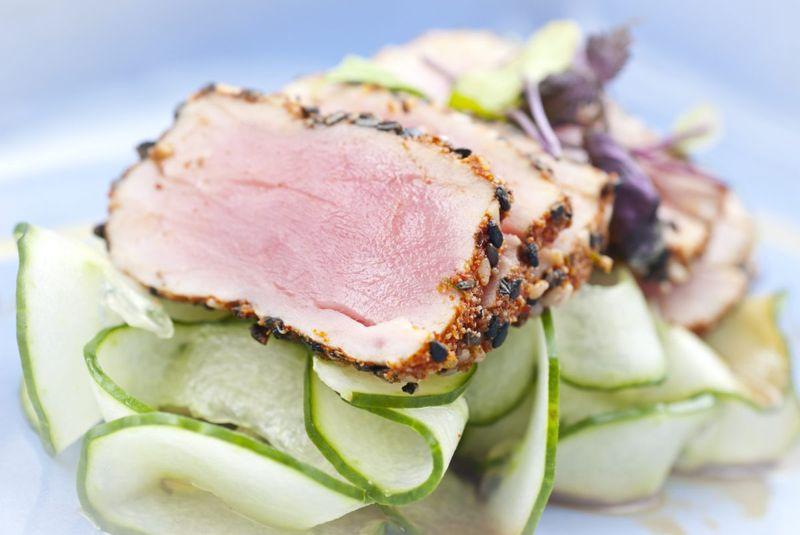 Tuna Steaks Meat