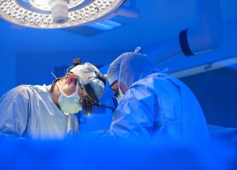 surgeons operating room