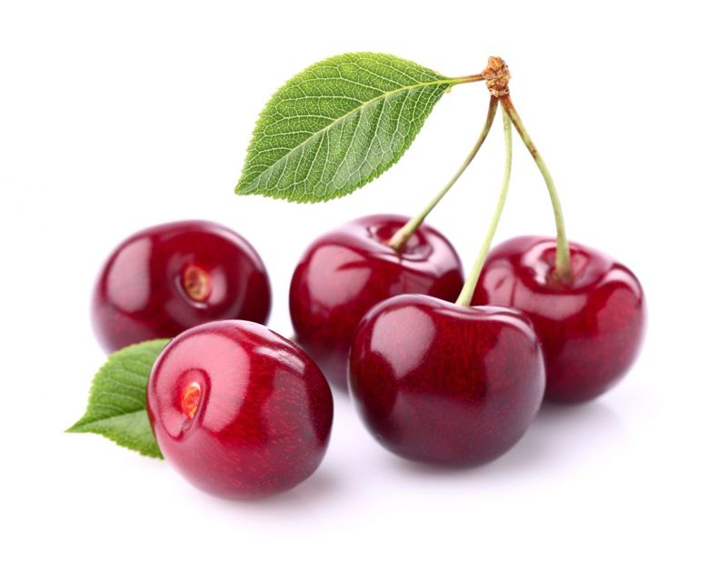 Cherries are good for gout