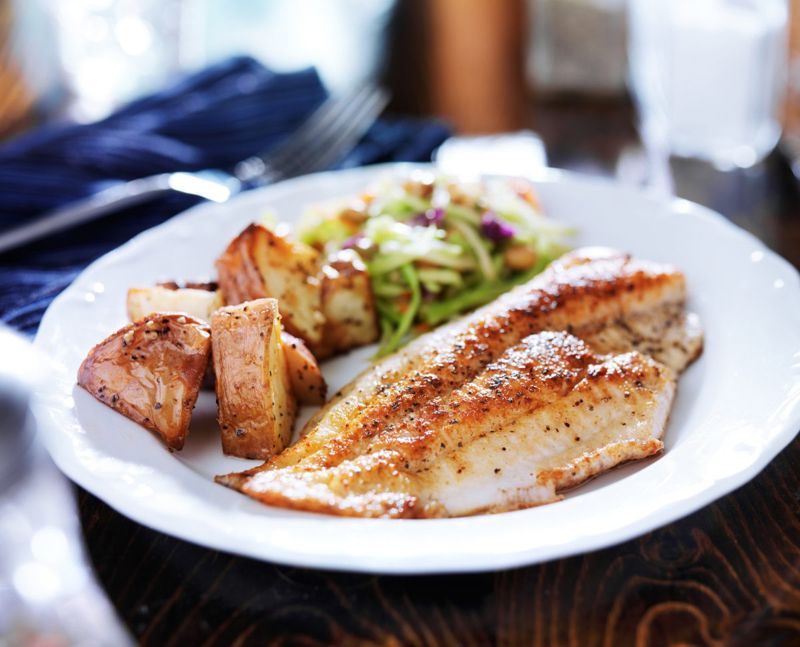 Fish is good for gout