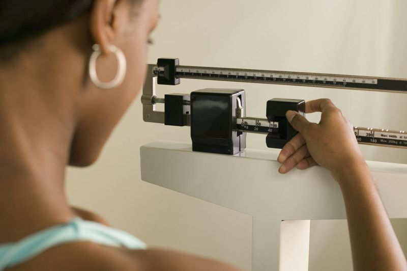 weight loss scale woman