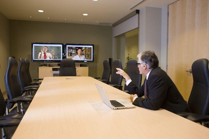 preparing video conference call