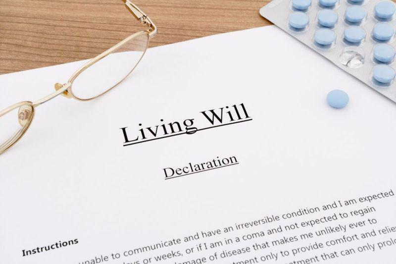 living will pills eyeglasses
