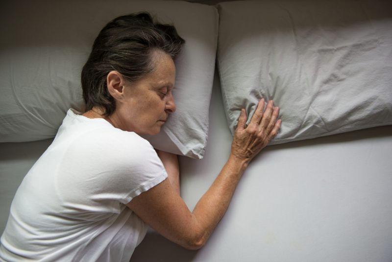 sleep apnea sideways