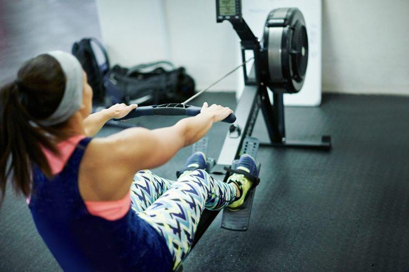 cardio movement warmup rowing machine