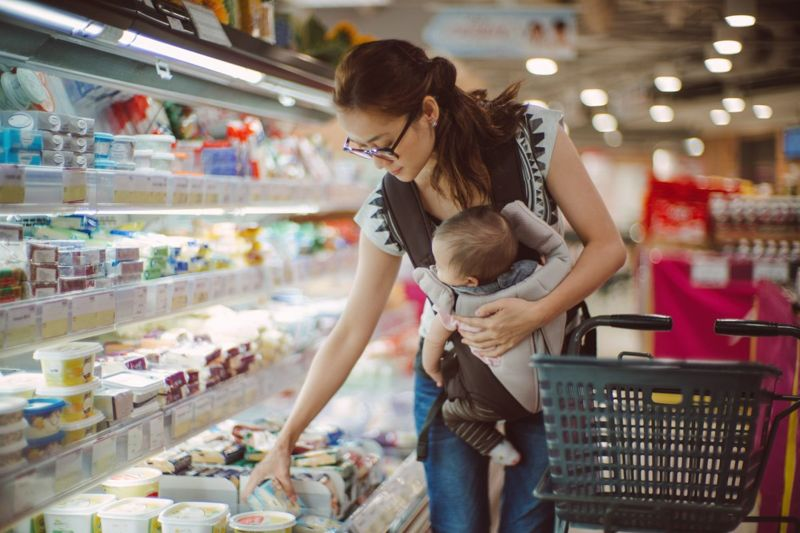 Grocery stores purchases prices recession