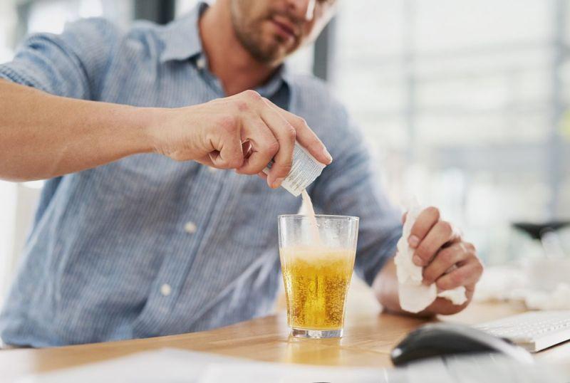 drink mix illness glass