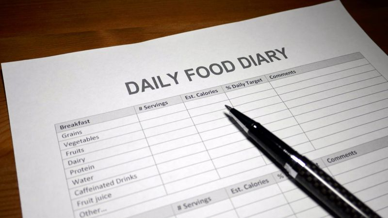 Food Diary Journal