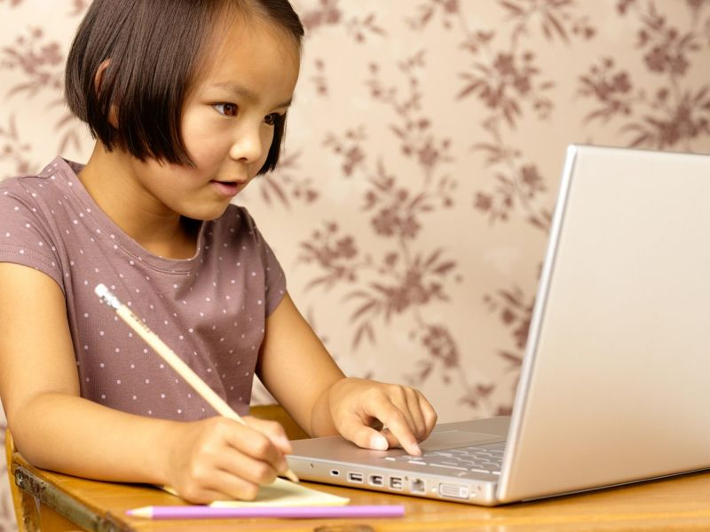 Self-guided learning at home
