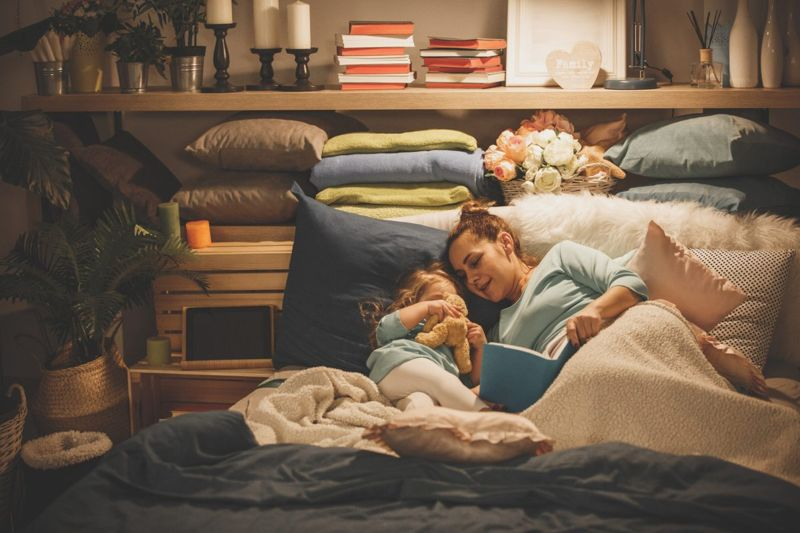 Kids are often most attached to the bedtime feeding.