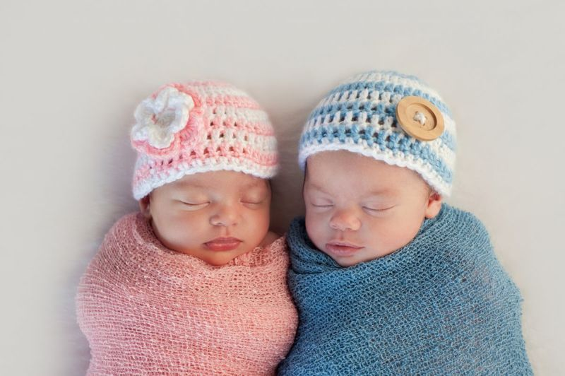 Fraternal Twins Boy Girl