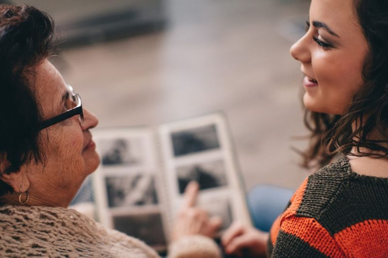 Ask older relatives