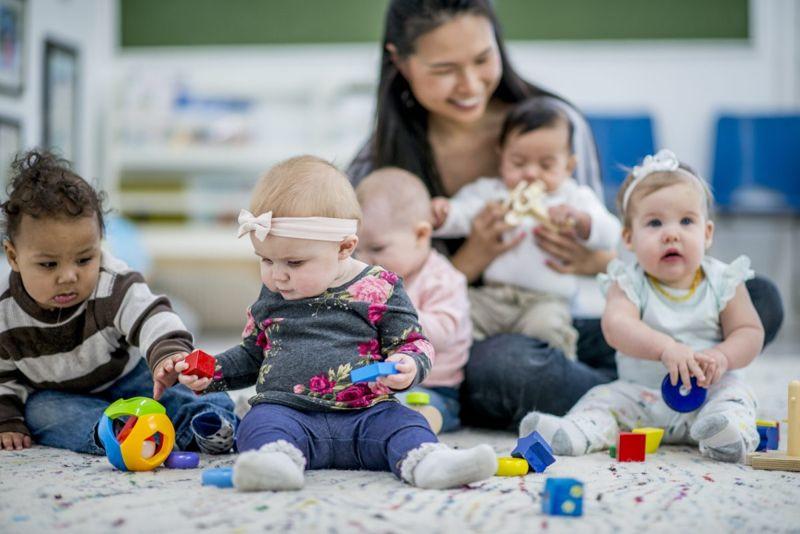 Children in daycare.