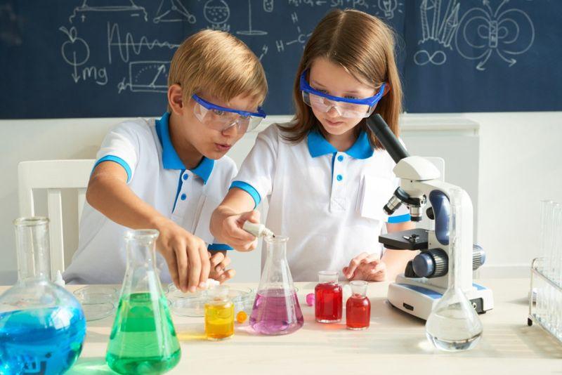 kids dye water experiment