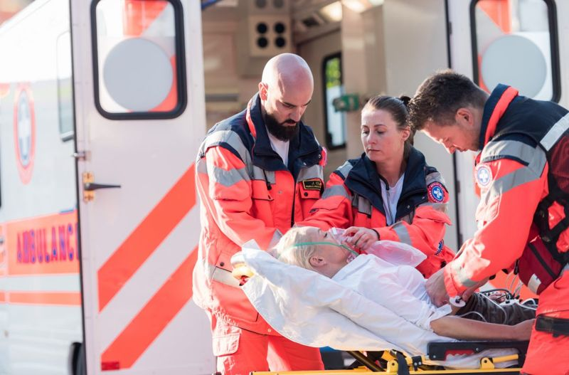Emergency Ambulance Signs