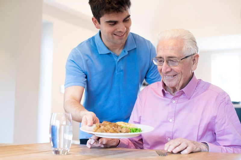 assistant caregiver food