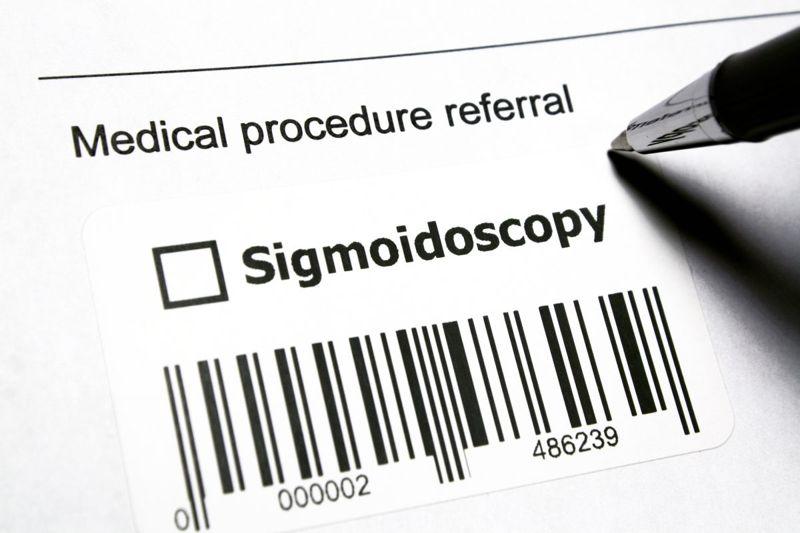 rectal examination X-ray CT sigmoidoscopy