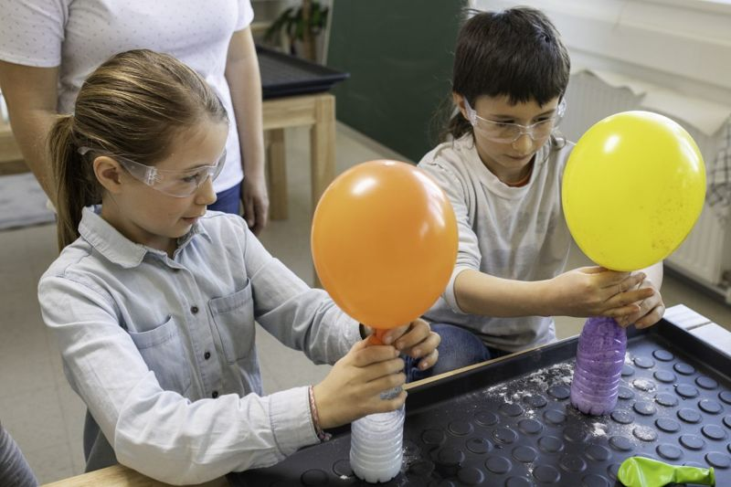 inflating balloon project children