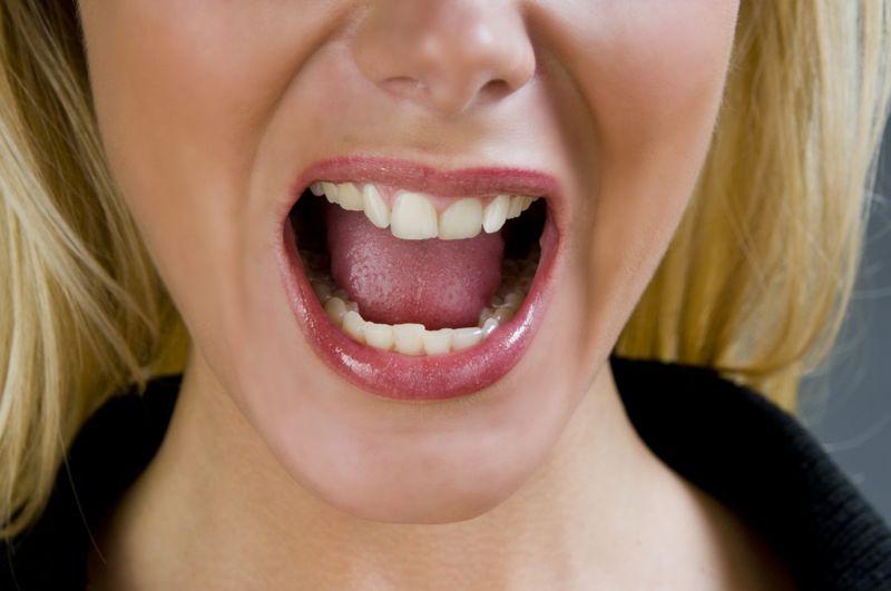 Tongue trauma can cause bumps