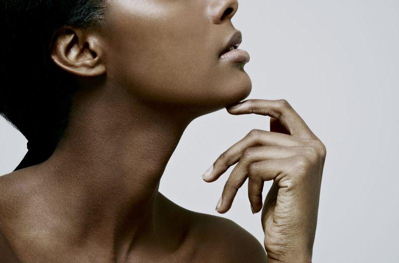female beautiful skin